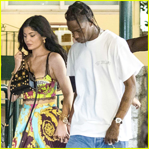 Kylie Jenner & Travis Scott Have Date Night Out in Capri