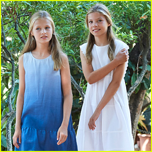 Princesses Leonor & Sofia of Spain Went To See 'The Lion King' This Week