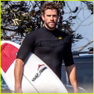 Liam Hemsworth Is In Australia After News of Miley Cyrus Split