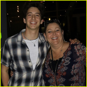 Milo Manheim Joins His Mom For a Movie Night!