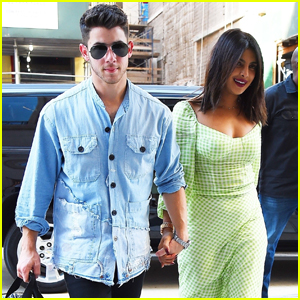 Nick Jonas & Priyanka Chopra Take Their Nieces to Lunch in NYC