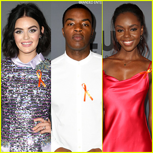 What Does The Orange Ribbon That Lucy Hale & Ashleigh Murray Wearing Mean? Find Out Here!