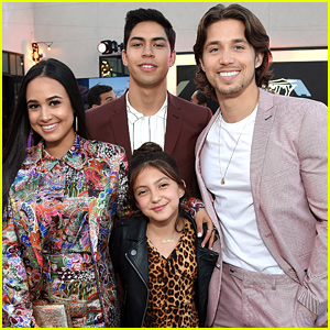 'Party of Five's Emily Tosta & Brandon Larracuente Run Into Some 'Good Trouble' at Variety's Power of Young Hollywood Party