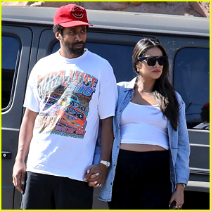 Shay Mitchell Is Joined by Partner Matte Babel at a Sunday BBQ