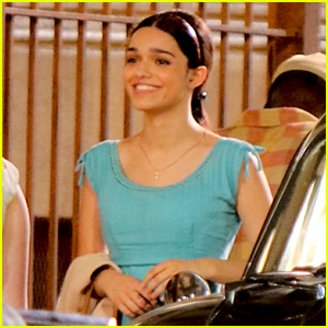 Rachel Zegler Is Glowing on the 'West Side Story' Set!
