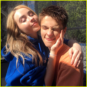 Sabrina Carpenter Wrote An 'Elf' Inspired Message For Corey Fogelmanis' Birthday