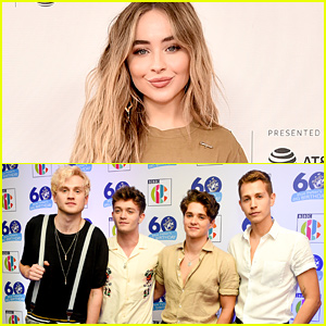 Sabrina Carpenter Reunites With The Vamps - See The Pic!