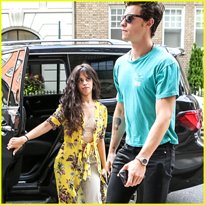 Camila Cabello & Shawn Mendes Hold Hands After Shawn's 21st Birthday Celebration in NYC