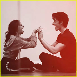 Camila Cabello & Shawn Mendes Get Silly In New 'Señorita' Rehearsal Video
