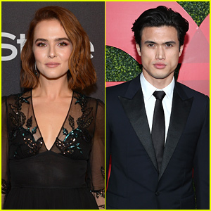 Breaking News - Zoey Deutch Fixes Her Nail After Charles Melton Broke It!