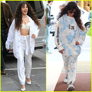 Camila Cabello Shows Off Two Fun Looks While Greeting Fans in Paris!