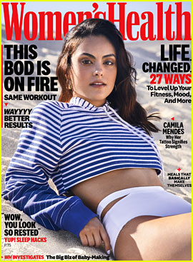 Camila Mendes Bravely Talks About Overcoming an Eating Disorder
