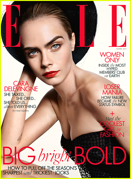 Cara Delevingne Talks Transition From Modeling To Acting With 'Elle UK'