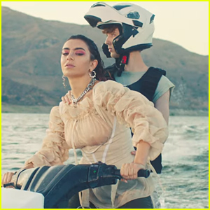 Charli XCX & Troye Sivan Ride Jet Skis in '2099' Music Video - Watch Now!
