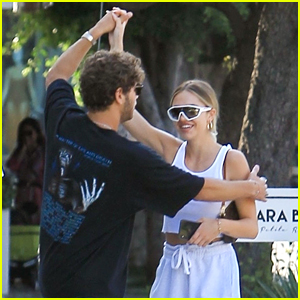 Delilah Belle's Boyfriend Eyal Booker Makes Her Dance In Public All The Time
