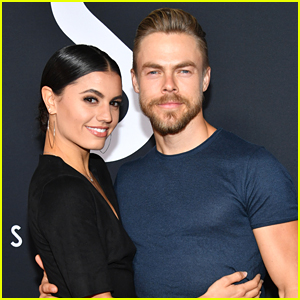 Derek Hough & Hayley Erbert Celebrate 1 Year With Cat Palo