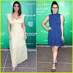 Emeraude Toubia & Auli'i Cravalho Step Out For 'Latin History of Morons' Opening Night