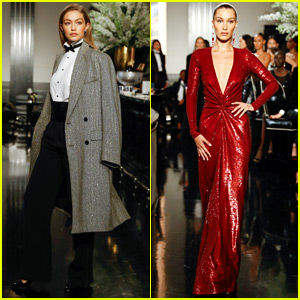 Bella Hadid & Sister Gigi Slay the Runway for Ralph Lauren!
