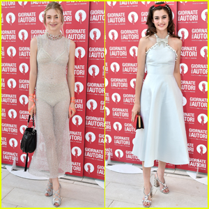 Hunter Schafer & Diana Silvers Get Glam With MiuMiu at Venice Film Fest