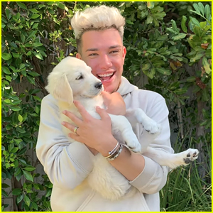 James Charles Adopts Adorable New Puppy!