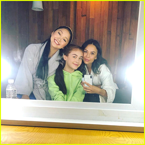 Janel Parrish Wraps 'To All The Boys 3', Shares BTS Pics With Lana Condor & Anna Cathcart