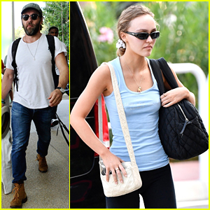 Lily-Rose Depp Lands In Italy For Venice Film Festival 2019