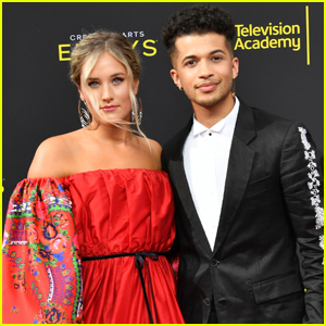 Jordan Fisher & Fiancee Ellie Woods Couple Up For Creative Arts Emmys 2019!