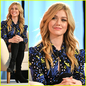 Katherine McNamara Attends BlogHer Creators Summit in NYC
