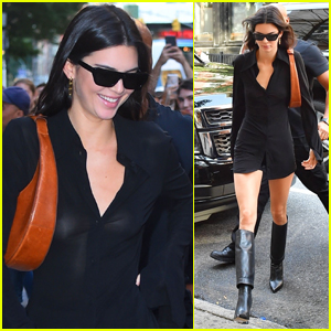 Kendall Jenner is All Smiles While Shopping in NYC!