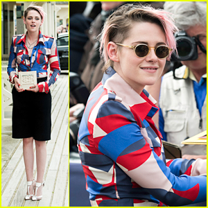 Kristen Stewart Gets Honored at Promenade des Planches Ceremony at Deauville Film Festival