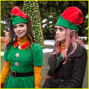 Laura Marano & Isabella Gomez Sing About Toys In New 'A Cinderella Story: Christmas Wish' Clip