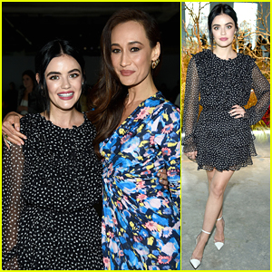 Lucy Hale Reunites With 'Fantasy Island' Co-Star Maggie Q at Jason Wu Fashion Show