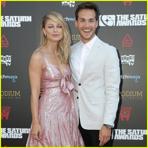 Melissa Benoist & Chris Wood Hit Their First Red Carpet Since Getting Married!