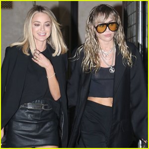 Miley Cyrus Steps Out for Dinner with Girlfriend Kaitlynn Carter!
