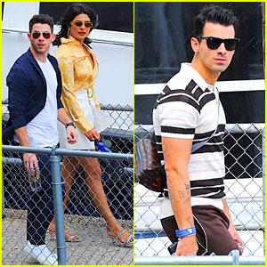 Joe Jonas Flies Away for Labor Day with Nick & Priyanka