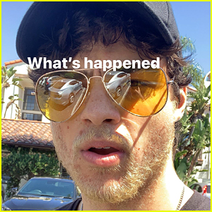 Noah Centineo Just Dyed His Beard Blond!
