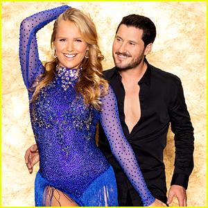 Sailor Brinkley Cook Rumbas To 'Señorita' With Val Chmerkovskiy on 'Dancing With The Stars' Week #2