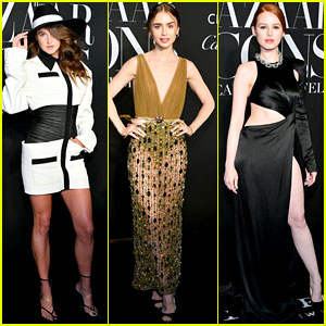 Shailene Woodley, Lily Collins, & More Glam Up for Icons Party During NYFW!