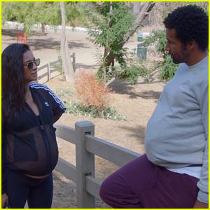 Shay Mitchell Puts Boyfriend Matte Babel In Pregnancy Suit