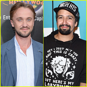 Tom Felton & Lin-Manuel Miranda Bond Over 'Hamilton' & 'Harry Potter'