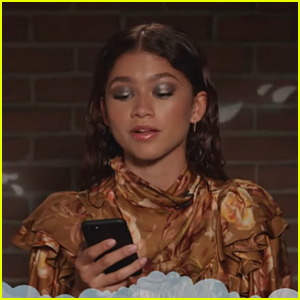 Zendaya Has The Perfect Clap Back For Mean Tweet On 'Jimmy Kimmel Live'