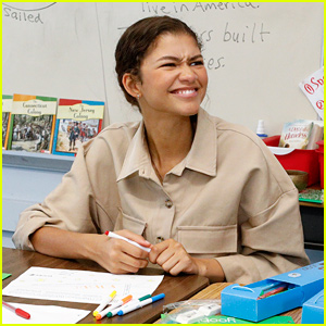 Zendaya Gives Back to Elementary School Students in Her Hometown