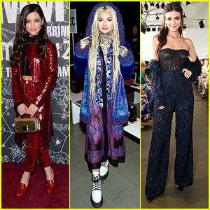 Jenna Ortega, Zhavia Ward & More Spotted at NYFW - See The Pics!