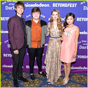 Miya Cech, Lyliana Wray, Jeremy Ray Taylor & Sam Ashe Arnold Bring 'Are You Afraid of the Dark?' To Beyond Fest in LA