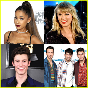 Ariana Grande, Taylor Swift & Shawn Mendes Nab Multiple American Music Awards 2019 Nominations