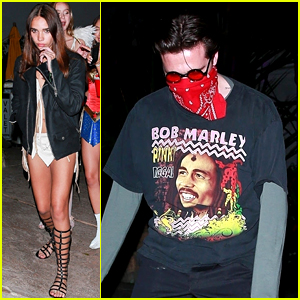 Brooklyn Beckham Celebrates Halloween at Same Party as Ex Hana Cross