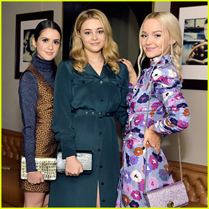 Dove Cameron, Josephine Langford & Laura Marano Glam Up For InStyle & Kate Spade New York Dinner in LA