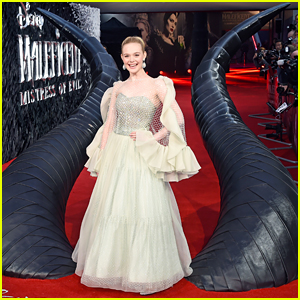 Elle Fanning Wore The Most Amazing Princess Dress To The