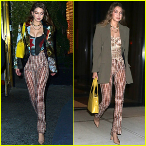 Gigi Hadid Leaves Bella's Birthday Bash in Different Outfit Than When She Arrived!