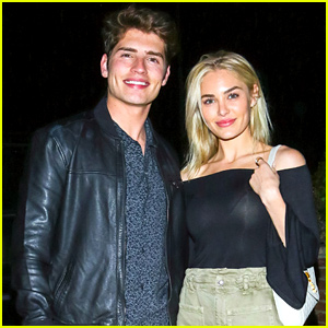 Gregg Sulkin Enjoys Date Night With Michelle Randolph After 'Cinderella Story' Promo